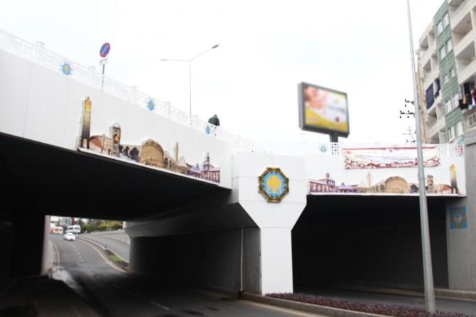 Diyarbakır'ın ilk altgeçidi yıllar sonra yenilendi