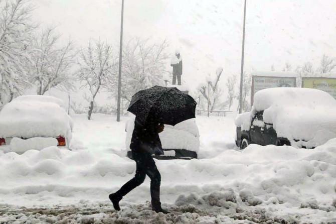 Batı Karadeniz'in iç kesimlerinde yoğun kar yağışı bekleniyor