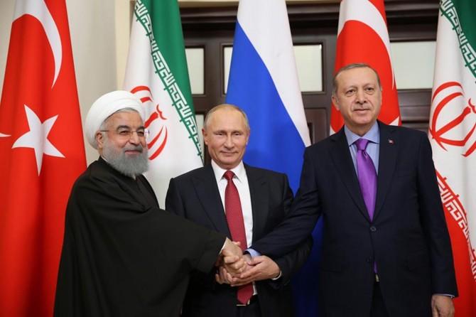 Soçi'de Suriye konulu üçlü zirve başladı