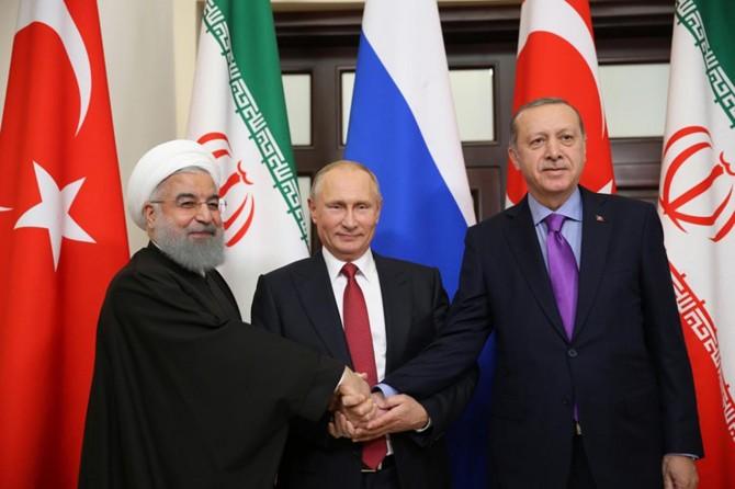Üçlü zirveden ortak karar: Suriye'de Ulusal Diyalog Kongresi toplanacak