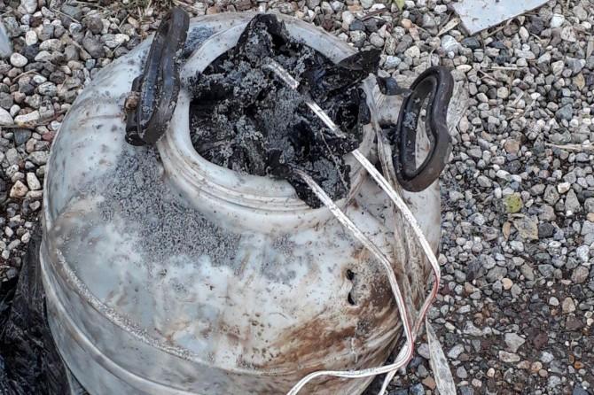 Tunceli-Pülümür Karayoluna döşenen patlayıcı imha edildi