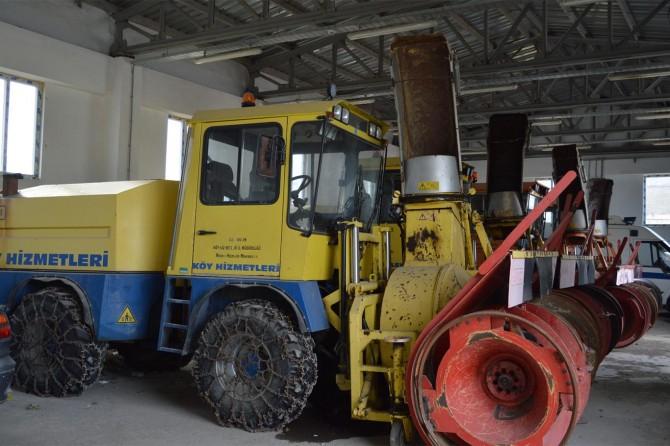 Bitlis'te karla mücadele için 4 milyon TL bütçe ayrıldı