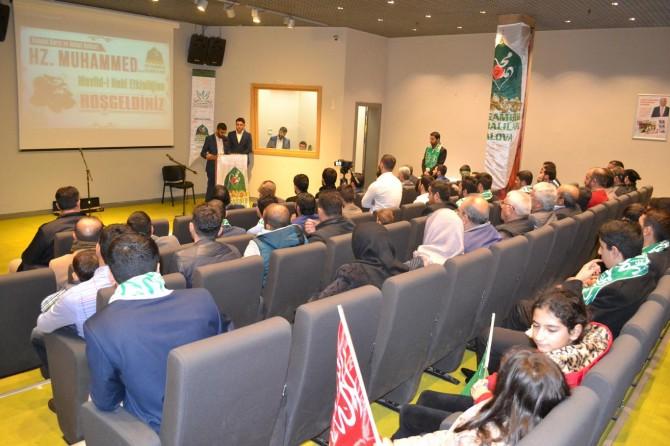 Yalova'da Mevlid-i Nebî etkinliği düzenlendi