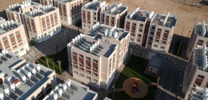 TİKA Gazze'de inşa edilen 320 adet konutu teslim etti