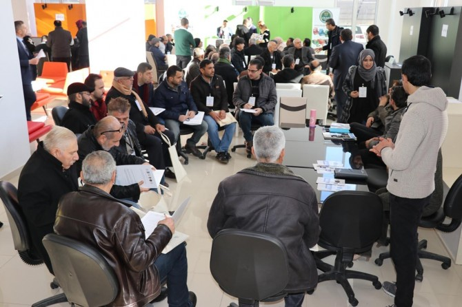 Gaziantep'te kursiyerler sanayicilerle bir araya geldi