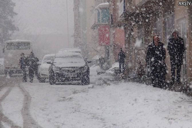 Ardahan'da okullar tatil edildi