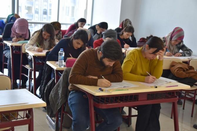 YKS kursu için yeterlilik sınavı