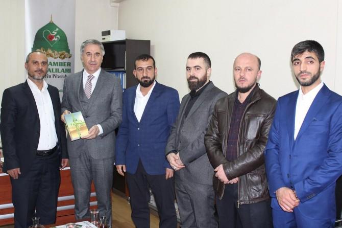 Elazığ Belediye Başkanı Mücahit Yanılmaz'dan Yeni İhya-Der'e ziyaret