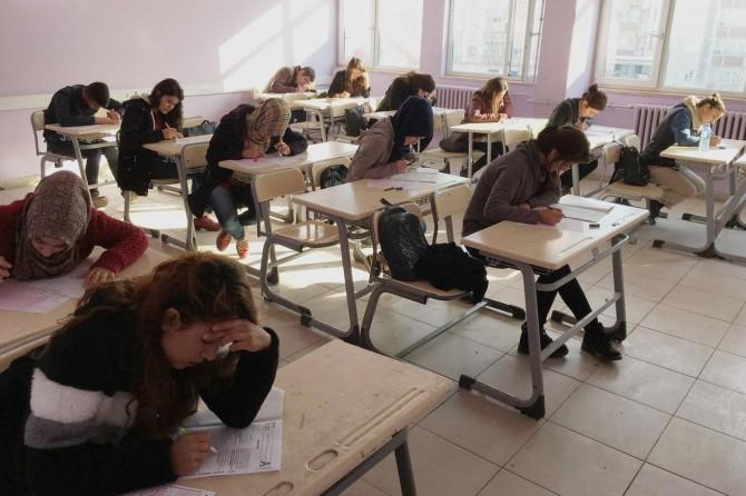 Silopi Halk Eğitim Merkezinden deneme sınavı