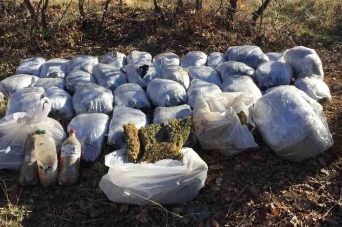 Diyarbakır'da piyasa değeri bir milyon TL olan uyuşturucu madde ele geçirildi