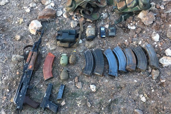 Mardin Dargeçit'te çatışma: 2 PKK'li öldürüldü