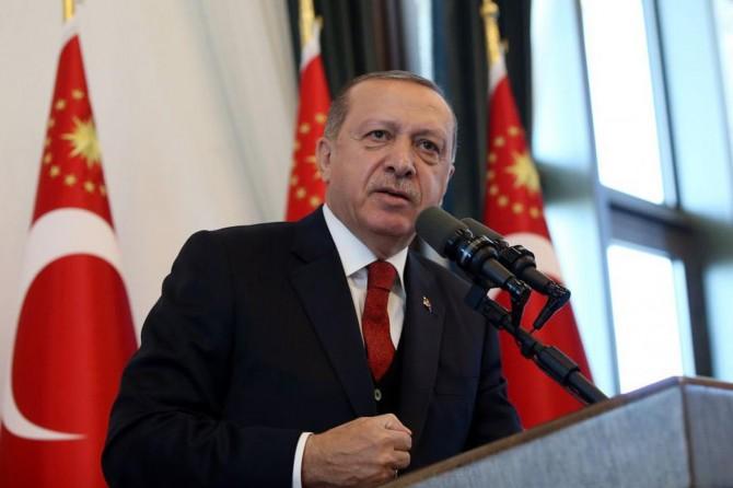 Cumhurbaşkanı Erdoğan'dan Trump'a: Sen çalarsın, sen oynarsın