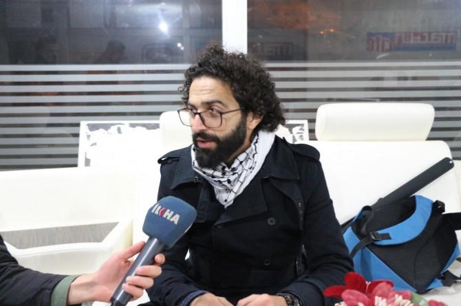 Filistinli ünlü yönetmen: Kudüs'ü gündemde tutmamız gerekiyor