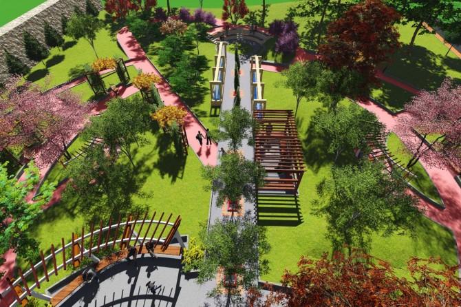 Mardin'de 4 park daha yapılacak