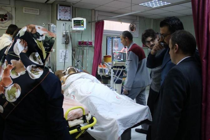 PYD'nin saldırısında bir işçi yaralandı