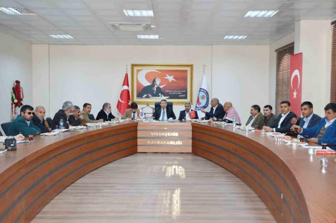 Viranşehir'de elektrik sorunu masaya yatırıldı