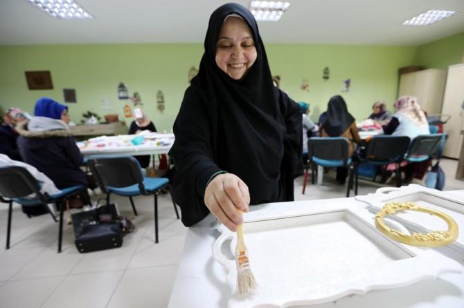 Van'da kadınlara el sanatı desteği
