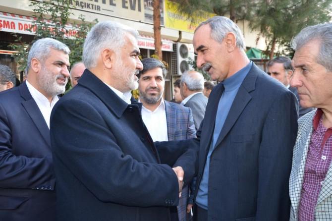 HÜDA PAR Genel Başkanı Yapıcıoğlu'ndan Önen ailesine taziye ziyareti