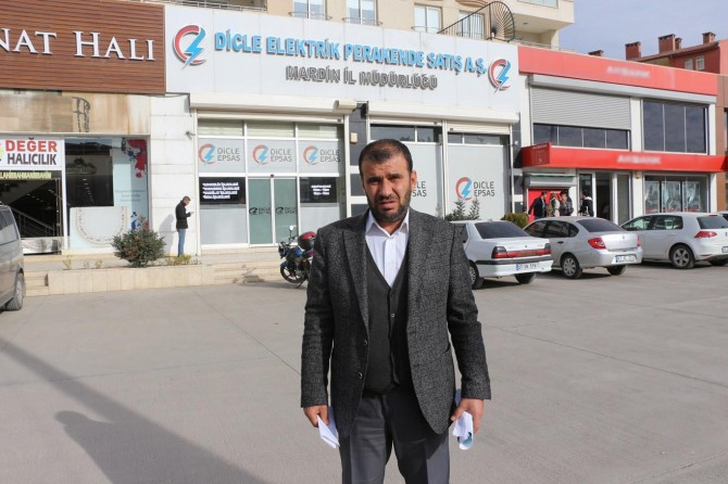 Elektrik depozitosuna el konulduğunu iddia eden vatandaştan Dicle EPSAŞ'a tepki