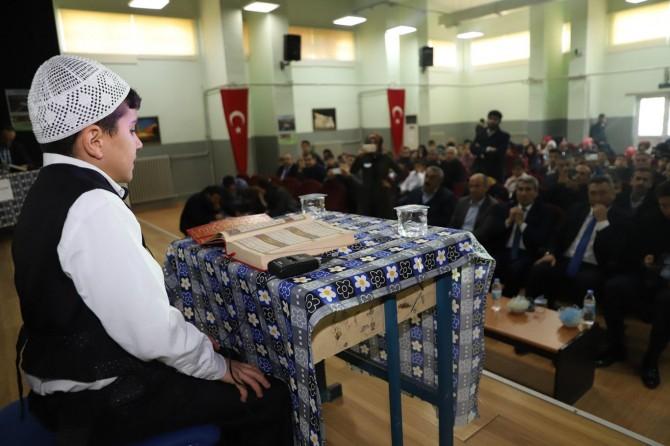 Mardin'de öğrenciler arası güzel Kur'an-ı Kerim yarışması