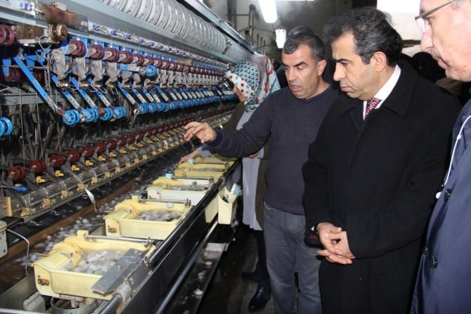 Ham ipek üretiminde merkez Diyarbakır'dır