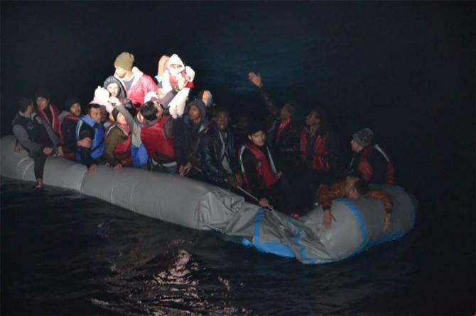 41 mülteci kurtarıldı