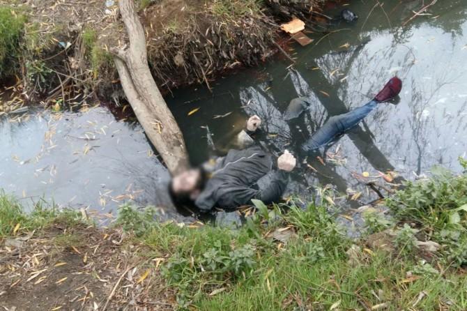 İstanbul'da su kanalında erkek cesedi bulundu