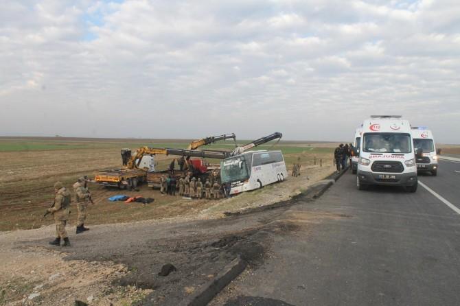Silopi'de kaza: 9 ölü 28 yaralı