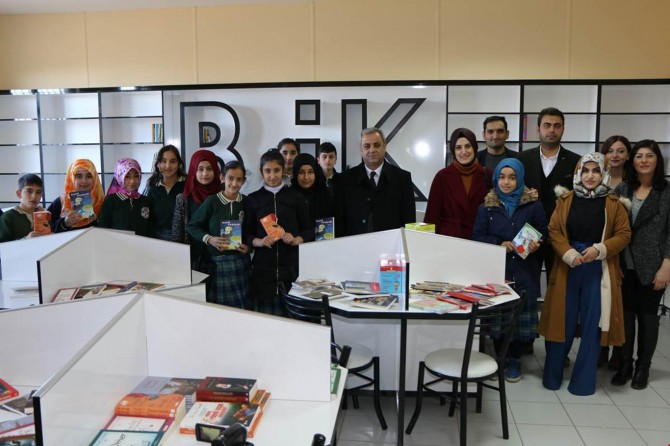 İl Özel İdaresinden köy okuluna kitap bağışı