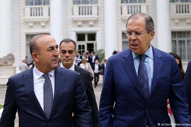 Çavuşoğlu ile Lavrov görüştü