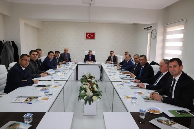 Mardin'de 'milli eğitim müdürleri' toplantısı yapıldı