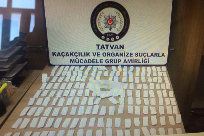 Bitlis'te uyuşturucu operasyonu: 3 kişi tutuklandı