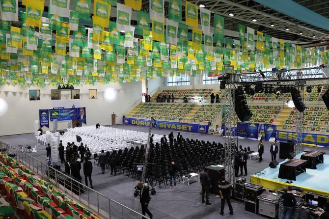 HÜDA PAR İstanbul Kongresi için hazırlıklar tamamlandı