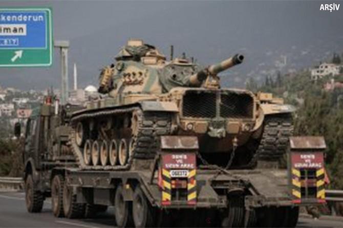 Şanlıurfa'dan Afrin'e askeri sevkiyat