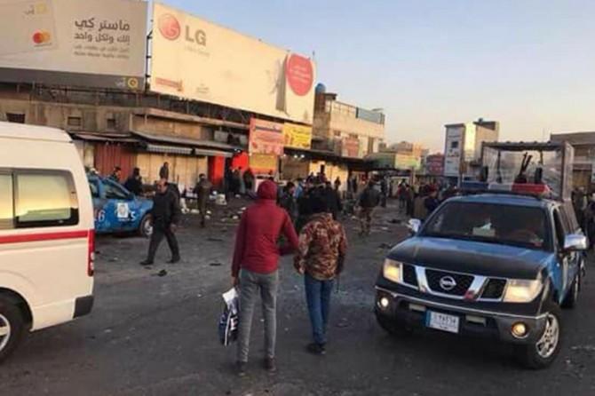 Bağdat'ta patlamalar: 26 kişi hayatını kaybetti