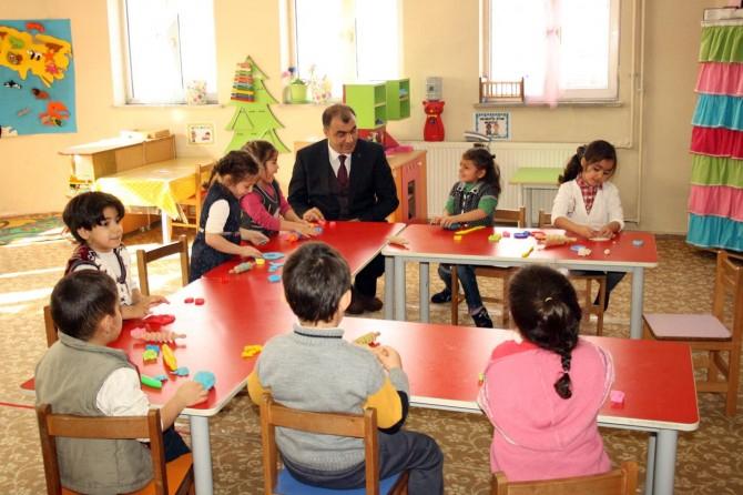 Ağrı'da 'Minik Kalpler Okula' projesi