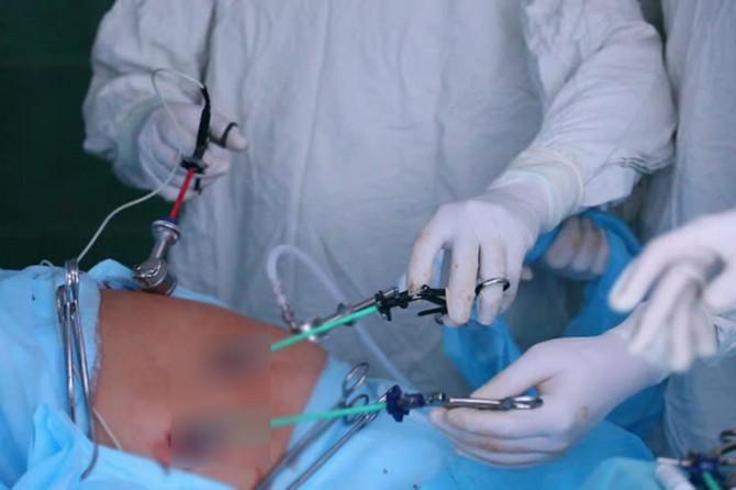 Patnos'ta ilk kapalı rahim alma ameliyatı yapıldı