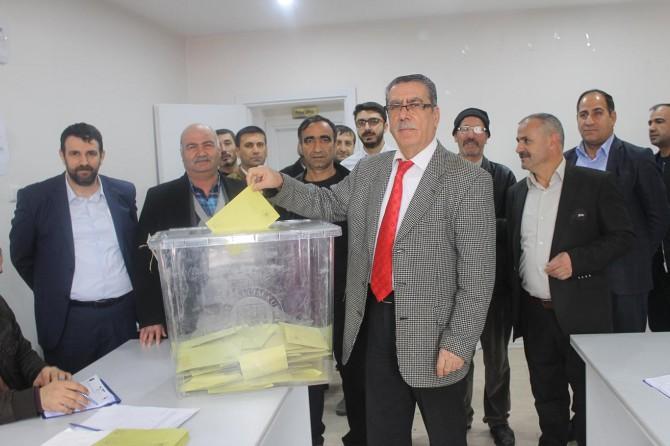 ESOB başkanlığına Ali Bayram yeniden seçildi