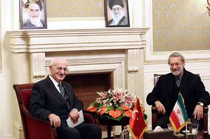 TBMM Başkanı Kahraman İran'da