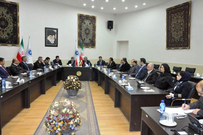 Ağrılı turizm heyetinden İran'a ziyaret