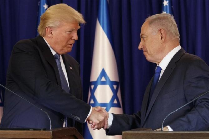 Trûmp Netanyahû derewand