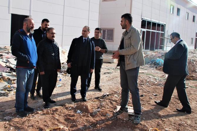 Afrin operasyonu öncesi Suriye'deki hastaneler incelendi