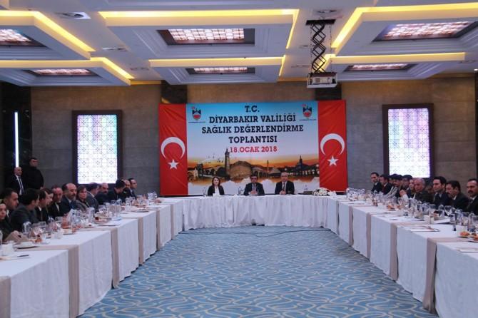 """Diyarbakır'da """"Sağlık Değerlendirme Toplantısı"""" yapıldı"""