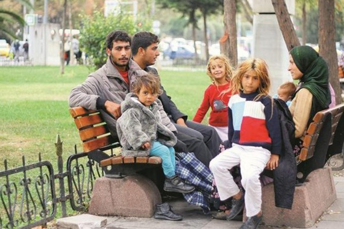 Hejmara Sûrîyeyîyên ku li Tirkîyê dijîn gihaşt 3 mîlyon û nîvan