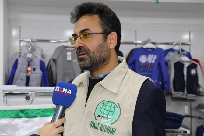 Umut Kervanı Vakfı İstanbul Bağcılar'da yetimleri sevindirdi