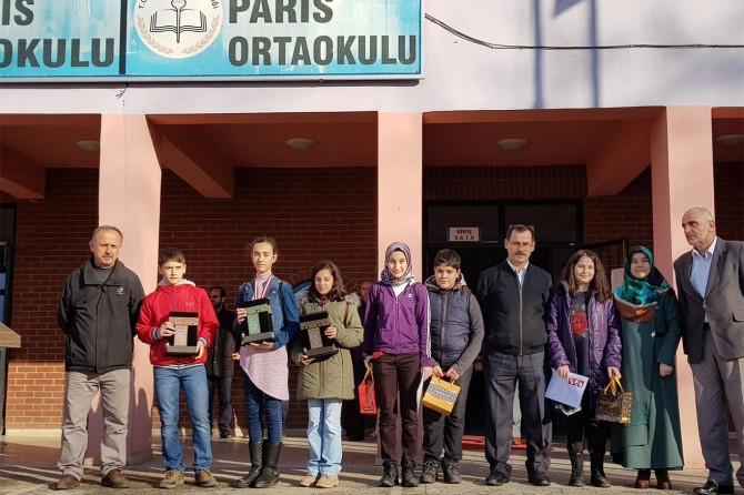 Sakarya'da Meal Sınavında dereceye girenler ödüllendirildi