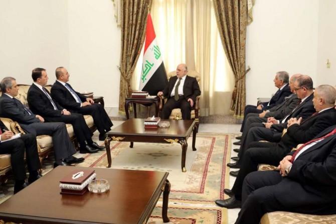 Dışişleri Bakanı Mevlüt Çavuşoğlu'ndan Irak'a ziyaret