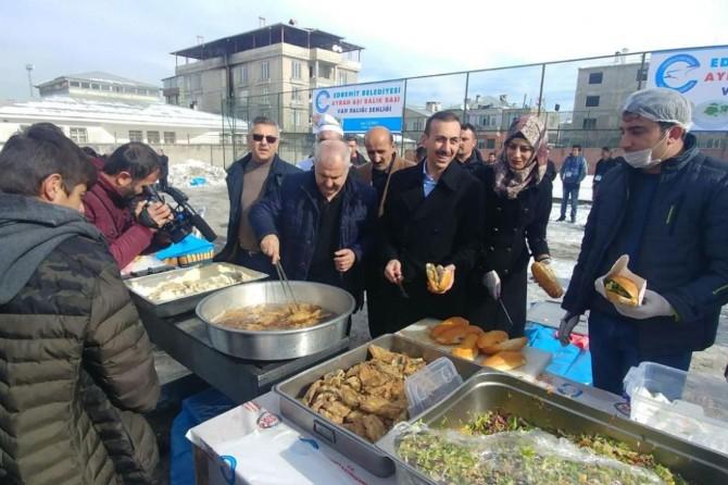 'Van Balığı ve Ayran Aşı Festivali' düzenlendi
