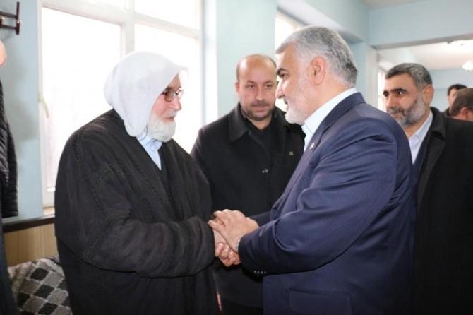 Yapıcıoğlu'ndan Viranşehir İlçe Başkanı Esmer'e taziye ziyareti