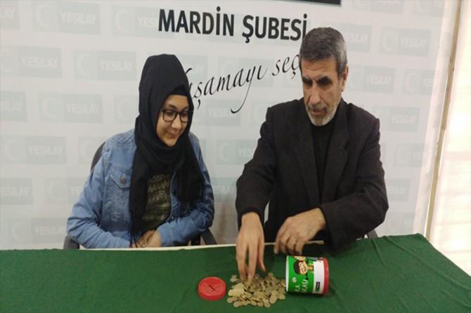 Mardin'de Yeşilay'ın kampanyasına anlamlı destek
